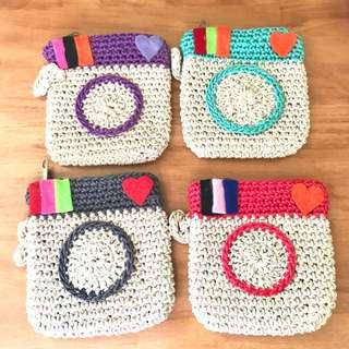 Crochet Small Pouch