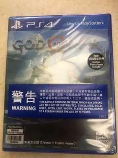 最新!未開!God of War 戰神4 含初回限定特典(可議
