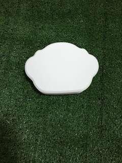 Wooden Jewelry box - cloud shape