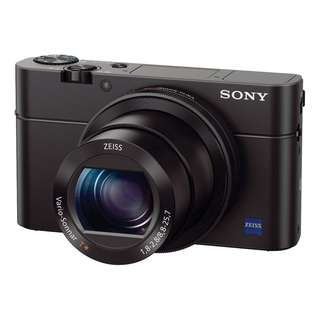 Sony RX100 3. Original Warranty Sony Malaysia 15 mth. Free Sandisk 16gb card, Extra Battery, Leather Case and Selfie Stick