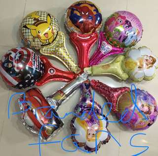 $0.80 : Various handheld balloons for party 🎉 Supply