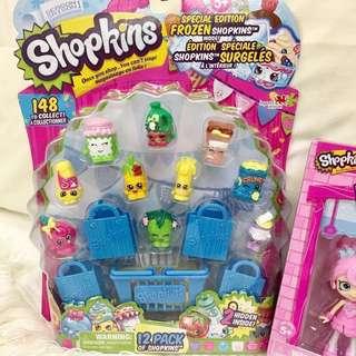 (Repriced) Shopkins season 1 12 pack
