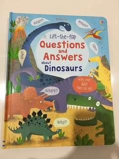 Usborne lift the flap dinosaurs