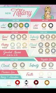 Tiffany Contact Lenses