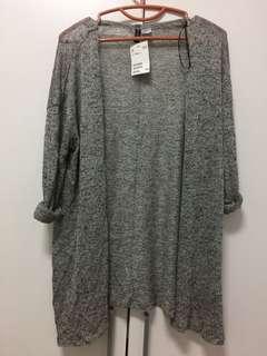 H&M 薄款鏤空百搭罩衫