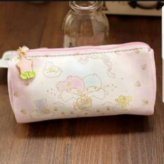 In Stock Sanrio Little Twin Stars Pouch Size is 13.5 × 3 × 8cm