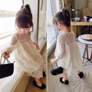 Baby girl dress soft lace