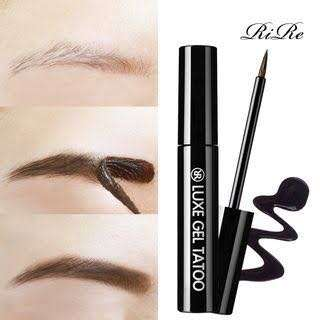 Rire Tattoo Eyebrow Dark Gray Peel Off