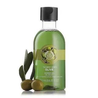 Authentic The Body Shop Olive Shower Gel 250ml