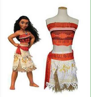 Disney Moana Kids Costume