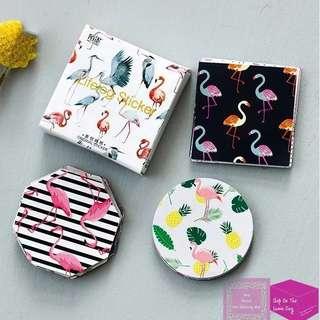 Set of 45pcs Beautiful Flamingos Sticker Pack