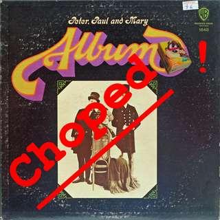 peter paul mary Vinyl LP, used, 12-inch original pressing