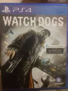 Kaset ps4 watch dogs