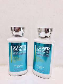 Bath and body works beautiful day super smooth body lotion 236Ml