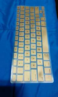 Macbook Pro 13 inch 2012 Keyboard Cover - Gold