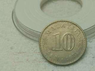 💥 10cent 1971. V3💥