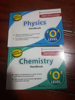 Science chemistry and physic handbook for o levels