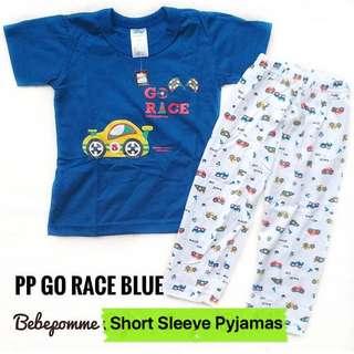 Car Pyjamas short sleeve tee pants toddler boy