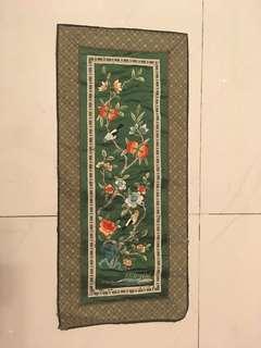 清刺繡(花鳥)
