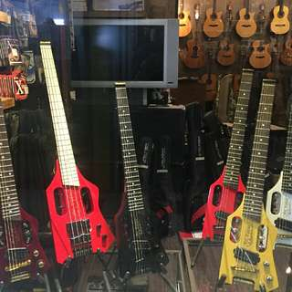 Tripper Travellers guitar and bass available now at maestro outlet peninsula shopping centre B1-34,Coleman street.