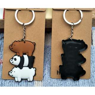 We Bare Bears Keychains ( D3 )