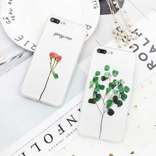 3D Seedling iPhone Case for 6 / 7 / 8 + / X