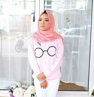 Sw harry potter pink (vh) 53.000 Material babytery, fit to L