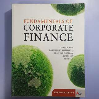 Fundamentals of Corporate Finance (Asia Global Edition)