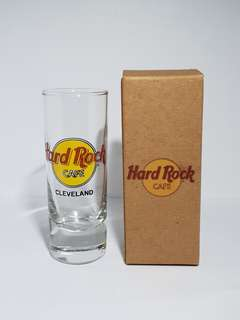 Cleveland Hard Rock Cafe Classic Shot Glass, Collectible