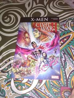 Komik xmen civil war