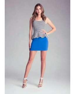 Bebe highwaist mini skirt