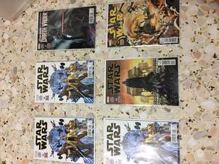 Star Wars first issues