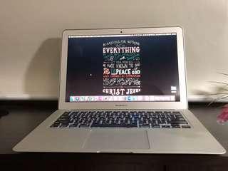 BTO MacBook Air 1.7 GHz i7 8gb RAM 512GB SSD