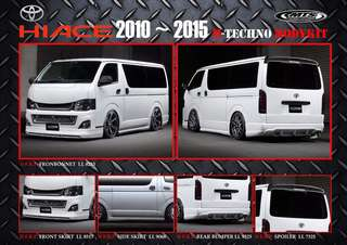 Hiace M-Techno bodykit