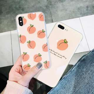 Peachy iPhone Case for 6 / 7 / 8 + / X