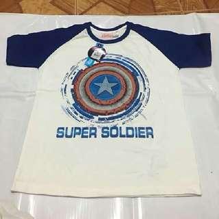 Avengers Captain America Glow In The Dark Tshirt