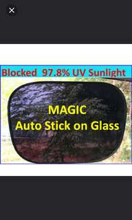 Magic Black static window films