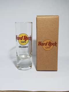 Orlando Hard Rock Cafe Classic Shot Glass, Collectible