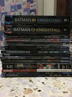 Assortment of comic TPBS
