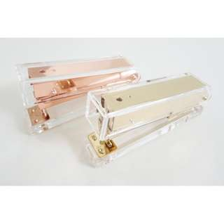 [PO] Acrylic Rose Gold/Gold Stapler