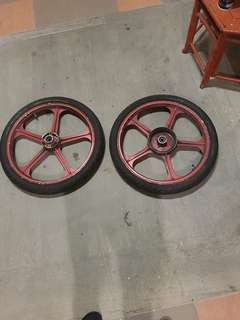 Gto 5 batang + Dunlop tt900