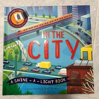 In the city shine a light book
