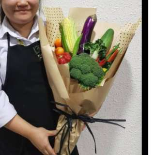vegetable mothers day bouquet
