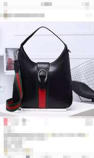 Gucci Hobo Leather Bag sz 32x5x25