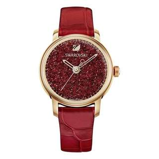 CRYSTALLINE HOURS RED STRAP LADIES' WATCH 5295380