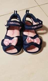 Pink Flower Girl Sandals