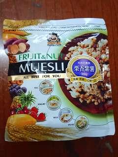 【🆕】穀物水果麥片(栗香紫薯)