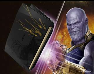 Limited edition Marvel Avengers Thanos Laptop