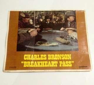 POSTER FILM JADUL BREAKHEART PASS CHARLES BRONSON TAHUN 1975 By dedydjadoel