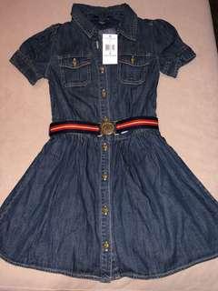 Brand new Polo Ralph Lauren belted denim dress for girls
